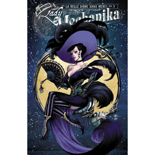 Lady Mechanika : La belle dame sans Merci 3 (VO) Variant Cover