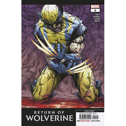 RETURN OF WOLVERINE 1 (VO) 2nd PRINT