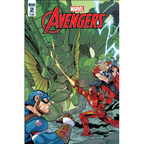 MARVEL ACTION AVENGERS 2 (VO) IDW