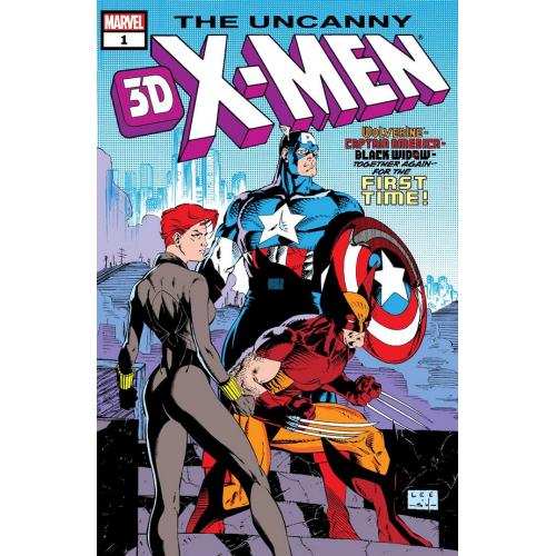 UNCANNY X-MEN 268 3D (VO)