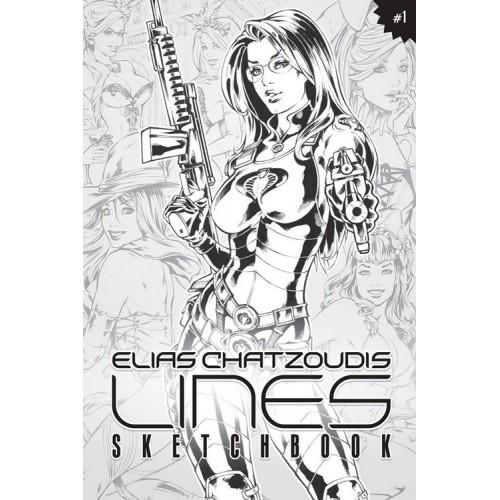 Elias Chatzoudis LINES sketchbook