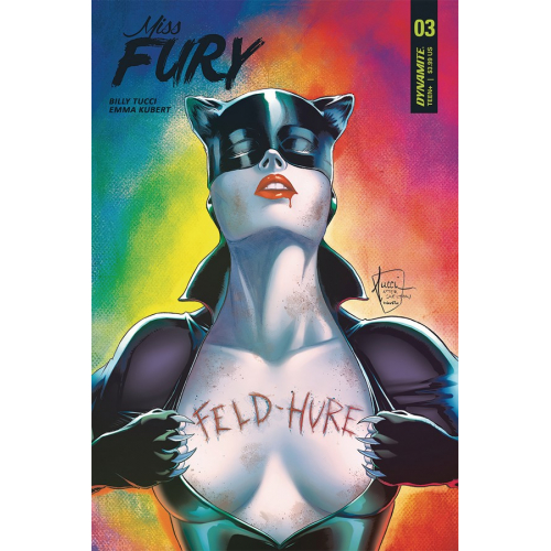 MISS FURY 3 (VO) Emma Kubert Cover A