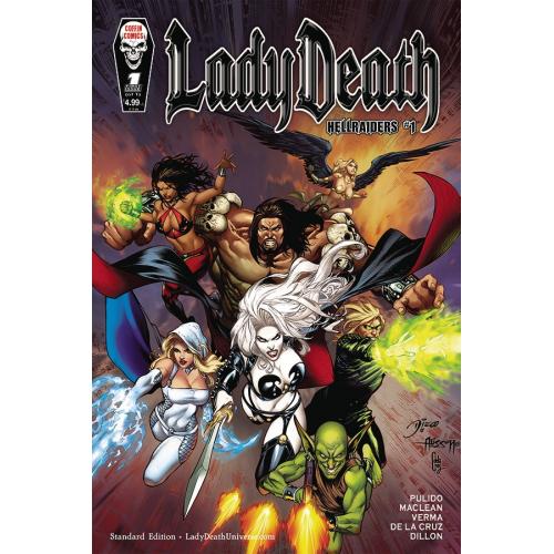 Lady Death : Hellraiders 1