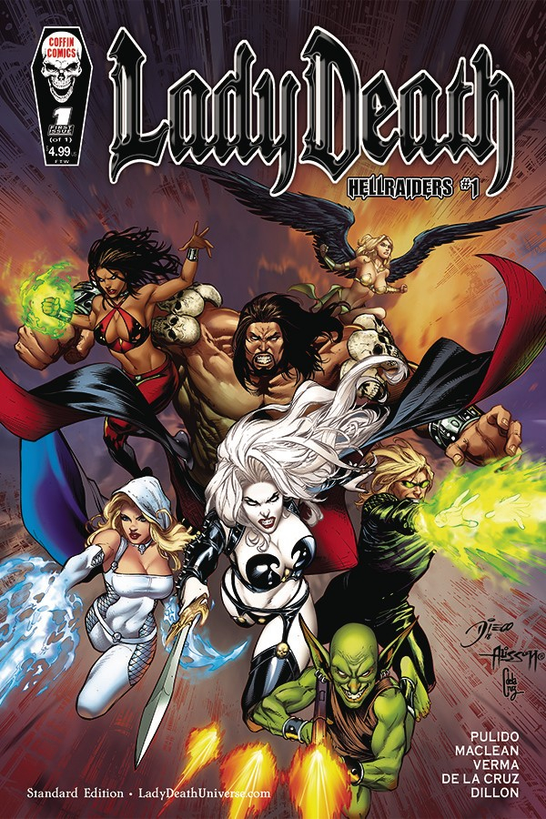 Lady Death : Chaos Rules 1 (J. Scott Campbell)