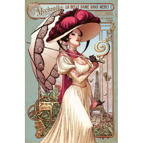 Lady Mechanika : La belle dame sans Merci 1 (VO) COLLECTOR signé par Joe Benitez