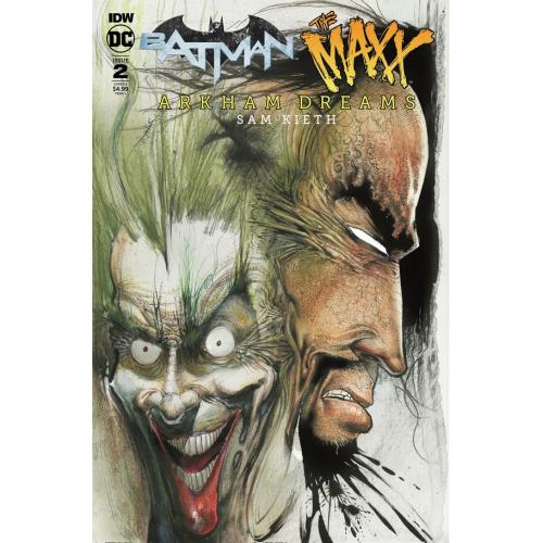 BATMAN - THE MAXX - ARKHAM DREAMS 2 CVR B KIETH (VO)