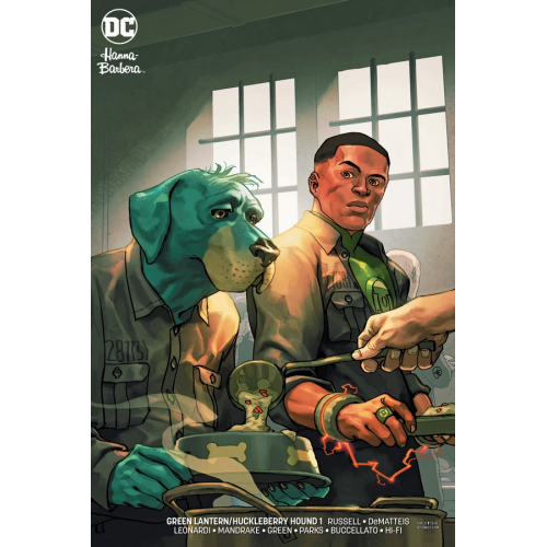 GREEN LANTERN HUCKLEBERRY HOUND SPECIAL 1 VARIANT EDITION (VO)