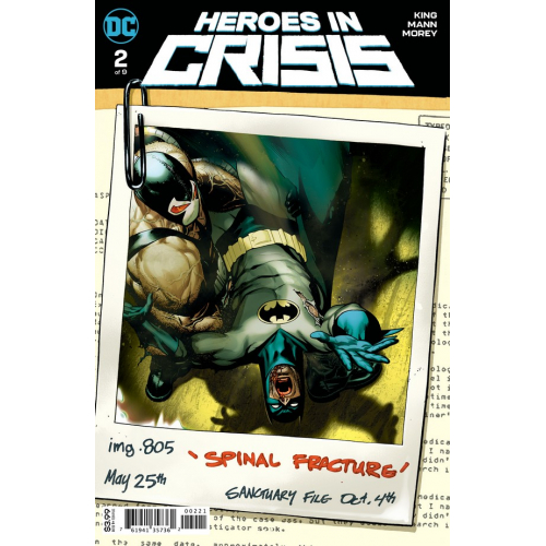 Heroes in Crisis 2 Variant Edition (VO)