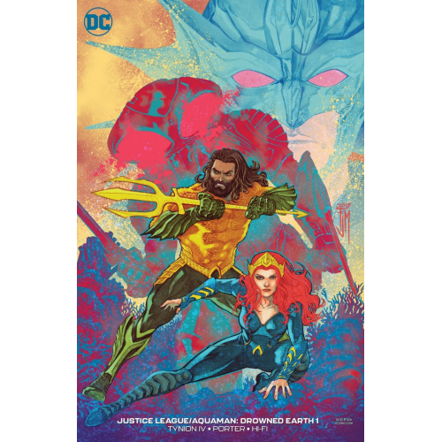 JUSTICE LEAGUE AQUAMAN DROWNED EARTH 1 VARIANT EDITION (VO)