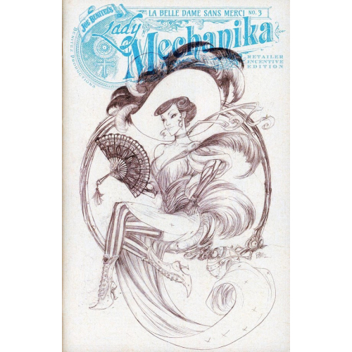 Lady Mechanika : La belle dame sans Merci 3 Incentive Cover (VO)