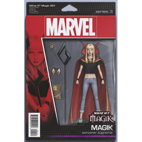 WHAT IF MAGIK? 1 CHRISTOPHER ACTION FIGURE VAR (VO)