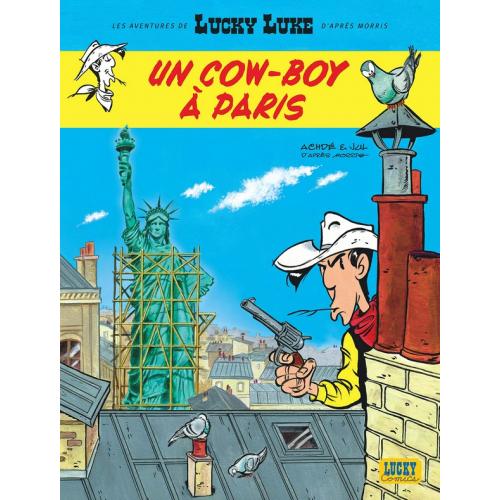 Les Aventures de Lucky Luke d'après Morris tome 8 : Un Cowboy à Paris