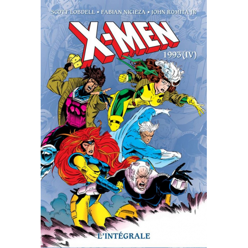 X-MEN INTEGRALE 1993 tome IV (VF)