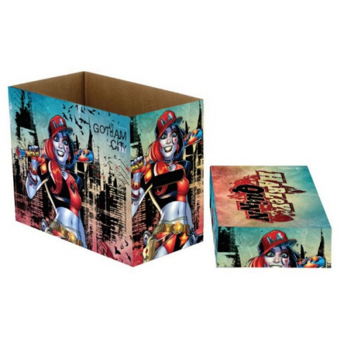 Short box Marvel Comics Harley Quinn Gotham