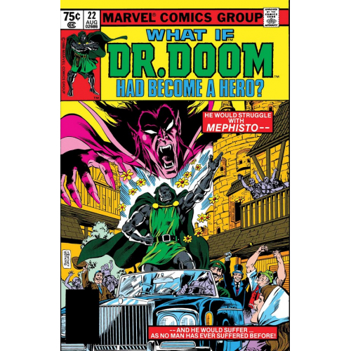 WHAT IF DR DOOM HAD BECOME A HERO 1 (VO)