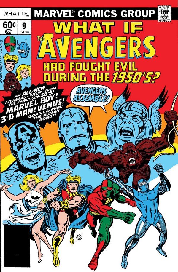 WHAT IF AVENGERS FOUGHT EVIL DURING 1950S 1(VO)