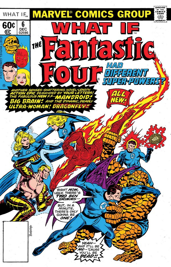 WHAT IF THE FF HAD DIFFERENT SUPER-POWERS 1 (VO)