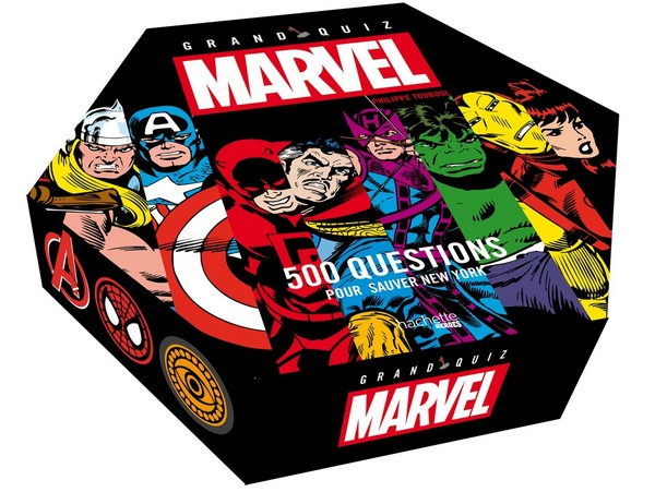 Grand Quiz Marvel: 500 questions pour sauver New York (VF)