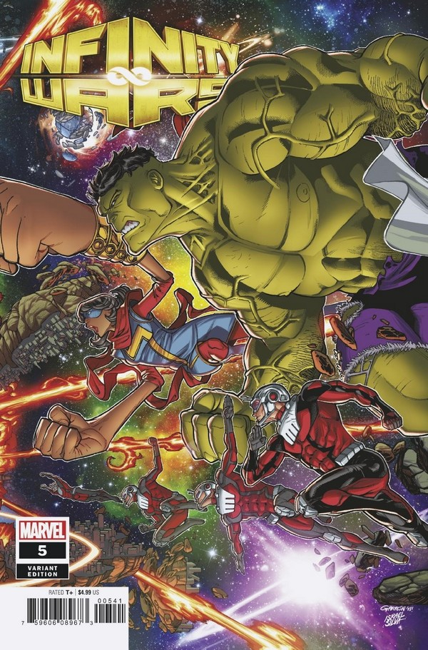 INFINITY WARS 5 (OF 6) GARRON CONNECTING VARIANT (VO)