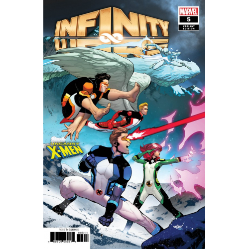 INFINITY WARS 5 (OF 6) MARQUEZ UNCANNY X-MEN VARIANT (VO)