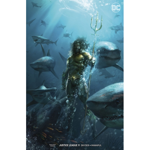 JUSTICE LEAGUE 11 Variant Edition (DROWNED EARTH) (VO)