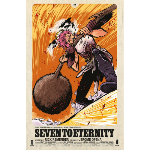 Seven to Eternity 12 Cover B Johnson (VO)