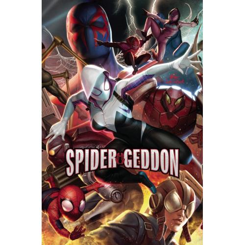 SPIDER-GEDDON 3 (OF 5) IN HYUK LEE CONNECTING VAR (VO)