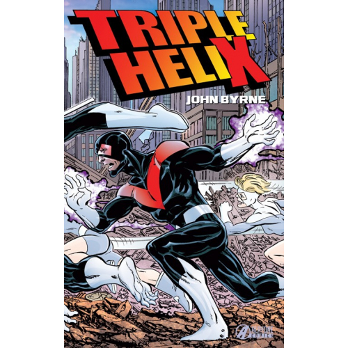 TRIPLE HELIX - JOHN BYRNE (VF) - COVER B - 300 Exemplaires
