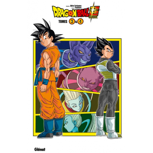 Dragon Ball Super - Coffret Tomes 3 et 4 (VF)