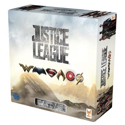 JUSTICE LEAGUE (Jeu VF) TOPI GAMES