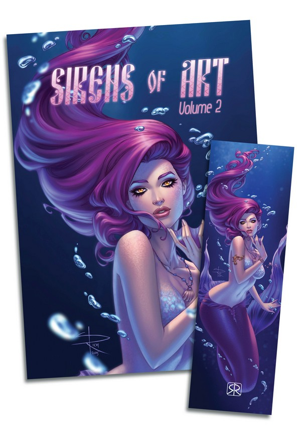 Sabine Rich : Sirens of Art Vol. 1 (Artbook)