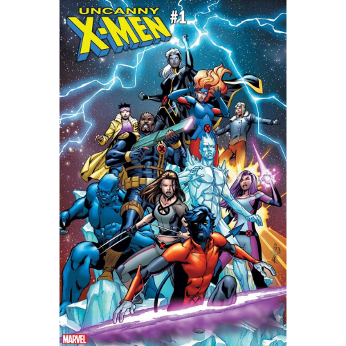 UNCANNY X-MEN 1 PACHECO VAR (VO)