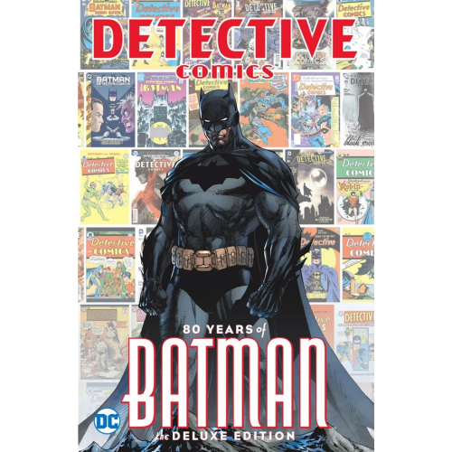 Detective Comics - 80 Years of BATMAN DELUXE EDITION HC (VO)