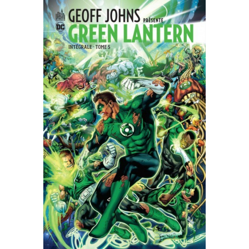 GEOFF JOHNS PRESENTE GREEN LANTERN INTEGRALE 5 (VF)