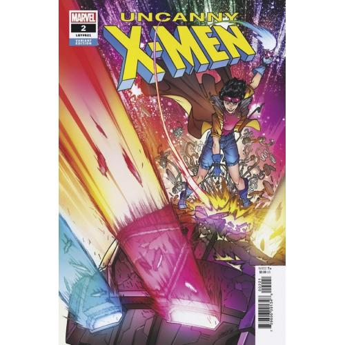 UNCANNY X-MEN 2 GARRON VARIANT (VO)