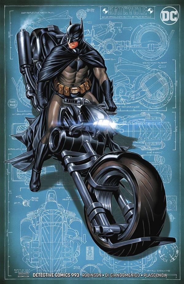 Detective Comics 993 Variant Edition (VO)