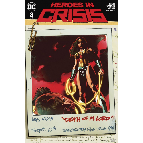 Heroes in Crisis 3 Variant Edition (VO)