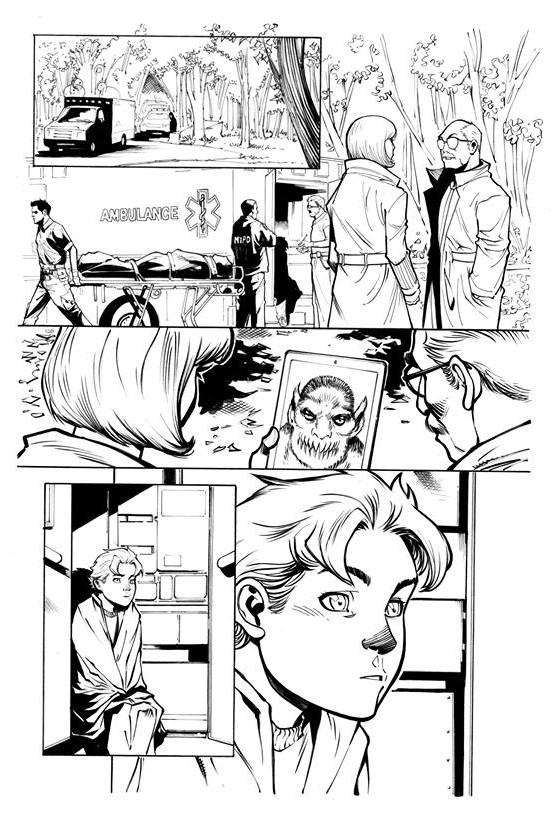 Page Originale : Arachknight 1 page 5 - Ale Garza