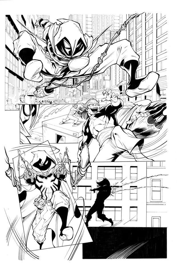 Page Originale : Arachknight 1 page 7 - Ale Garza