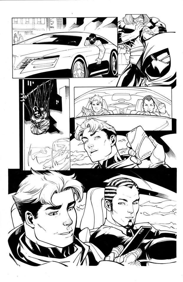 Page Originale : Arachknight 1 page 8 - Ale Garza