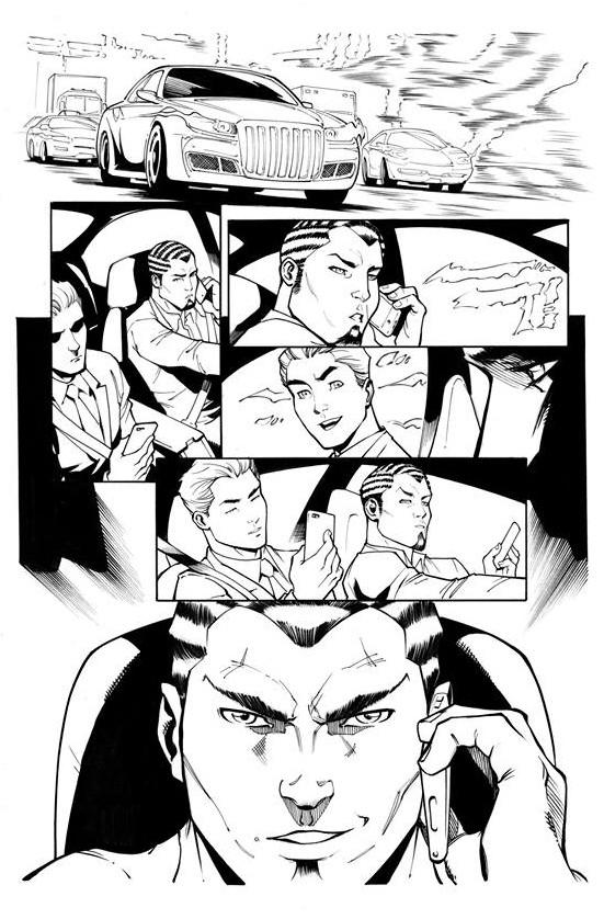 Page Originale : Arachknight 1 page 10 - Ale Garza