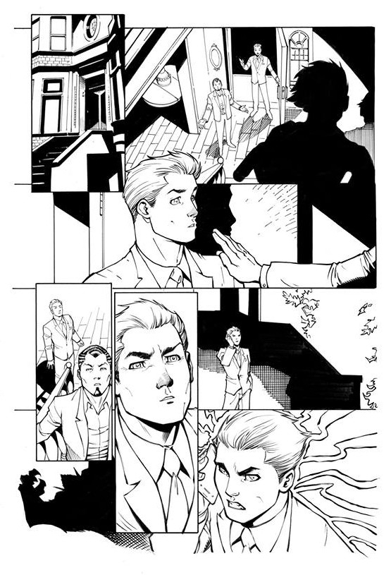 Page Originale : Arachknight 1 page 12 - Ale Garza