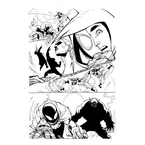 Page Originale : Arachknight 1 page 16 - Ale Garza