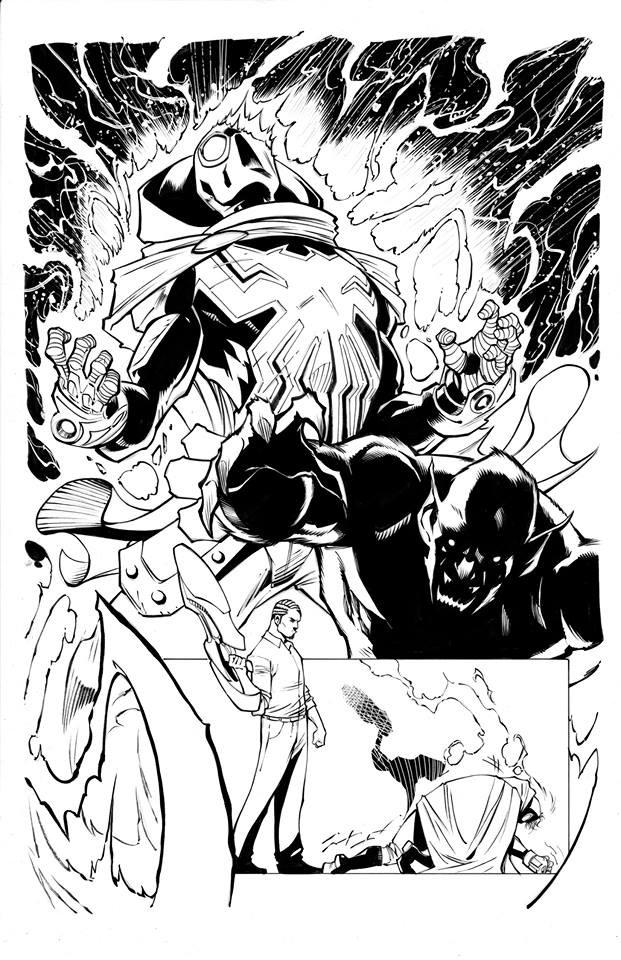 Page Originale : Arachknight 1 page 17 - Ale Garza