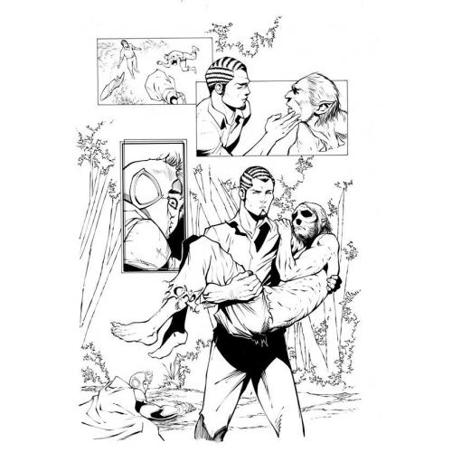Page Originale : Arachknight 1 page 2 - Ale Garza