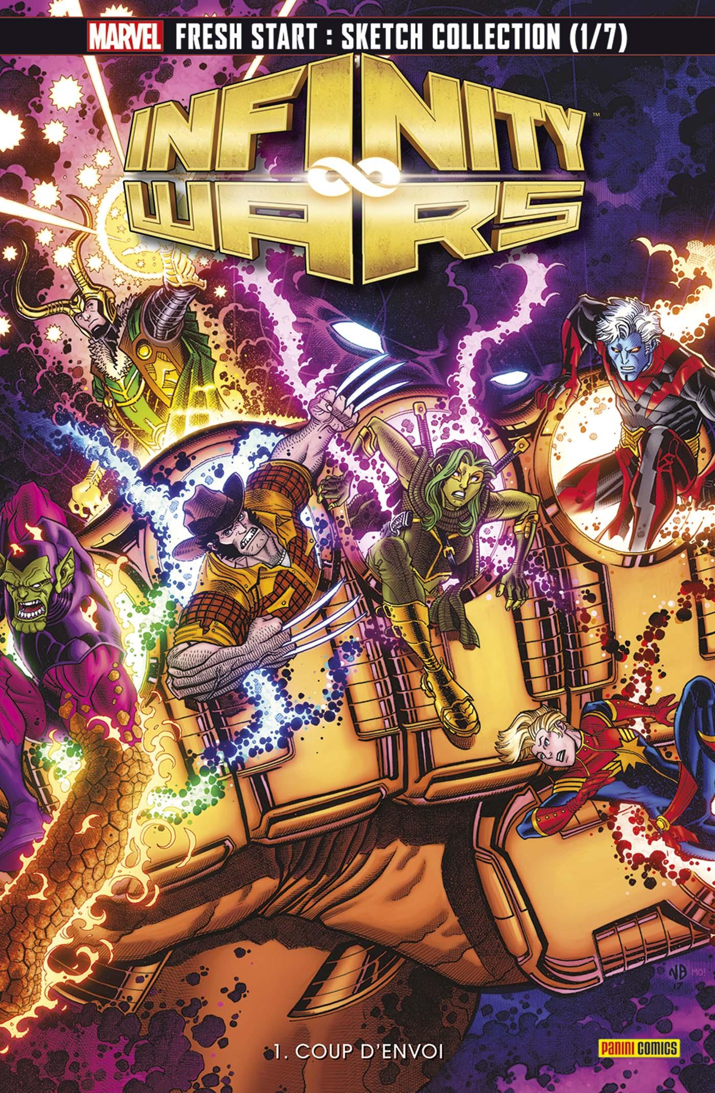 Infinity Wars n°1 (VF)