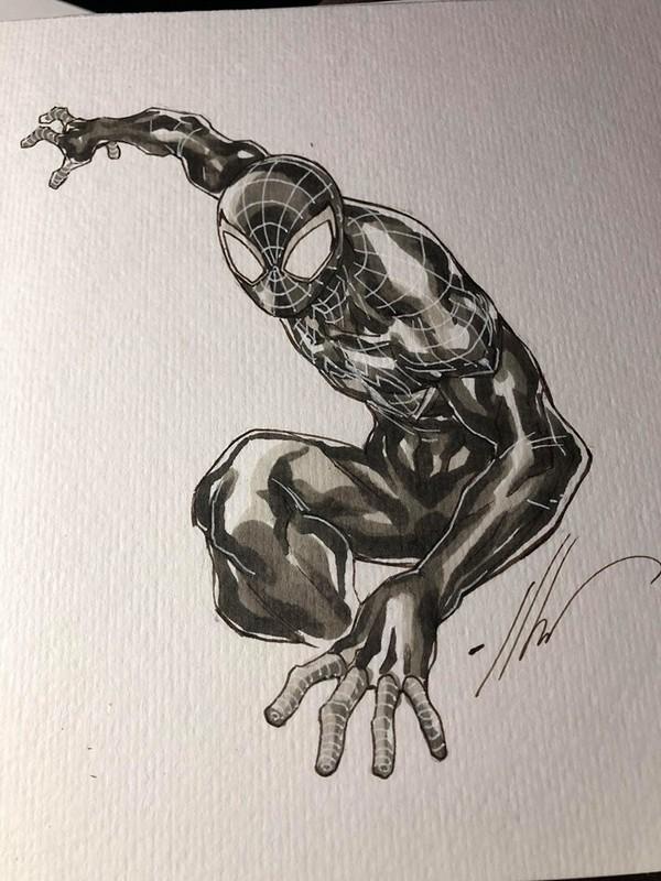 Dessin Original : Spider-Gwen par Ale Garza