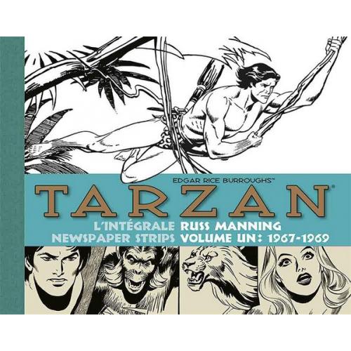 Tarzan : intégrale Russ Manning newspaper strips : Tome 1 1967-1969 (VF)