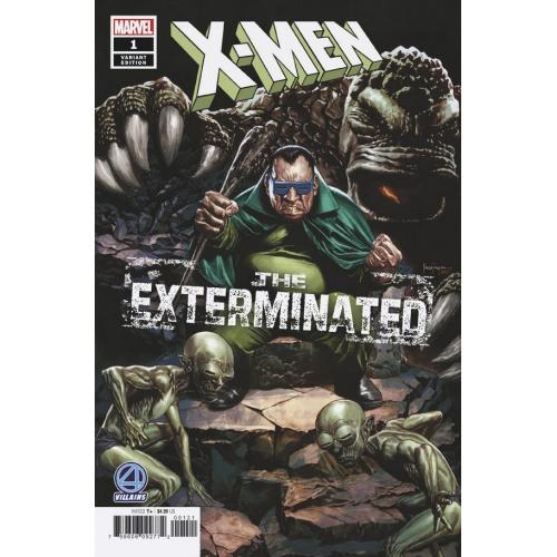 X-MEN EXTERMINATED 1 SUAYAN FANTASTIC FOUR VILLAINS VAR (VO)