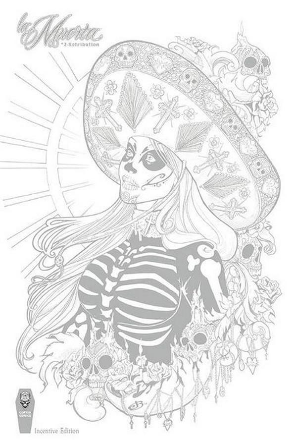 La Muerta Retribution #2 (of 2) Jen Broomall Incv Cvr (VO)
